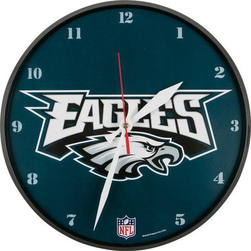 NFL - Philadelphia Eagles Round Clock