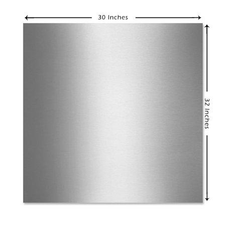 KOBE  SSP30  Backsplash  Accessory  ;Stainless Steel (Stainless Steel Professional Backsplash)