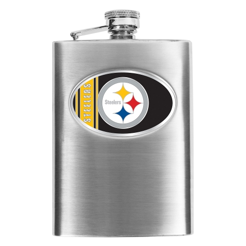 Pittsburgh Steelers Stainless Steel Flask - No Size