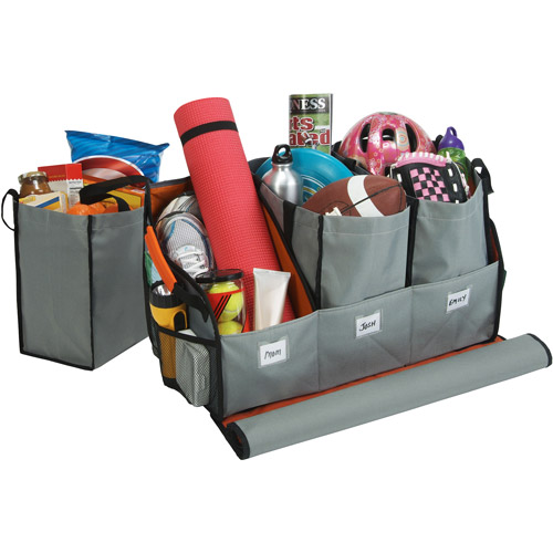 Highland Trunk Organizer with 3 Totes