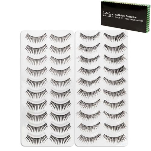 BMC 20 Pair 2 Styles False Eyelashes - Day To Night Falsies Collection, Set 4