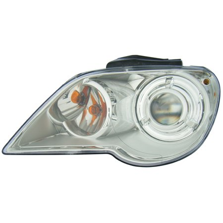 Chrysler Concorde Headlight Assembly - 2007-2008 Chrysler Pacifica Driver Left Side HID Headlight Lamp Assembly