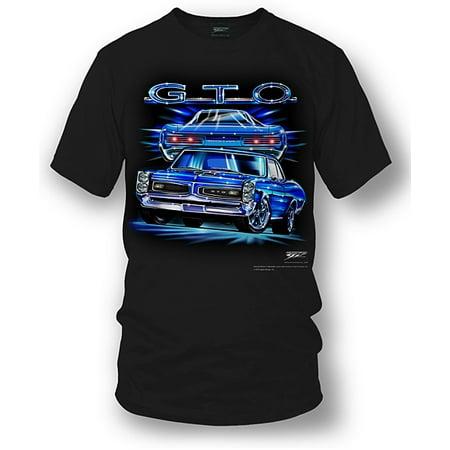 Wicked Metal - GTO Shirt - Pontiac GTO Shirt – Muscle Car T-shirt – 1966 GTO (Kids Muscle Shirt)