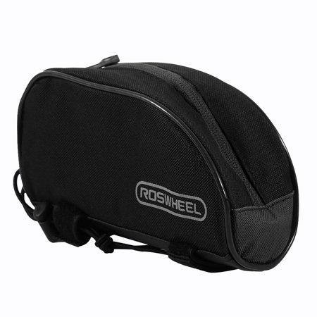 - ROSWHEEL Bike Front Handlebar Front Tube Waterproof Bag Front Frame Tube Bag