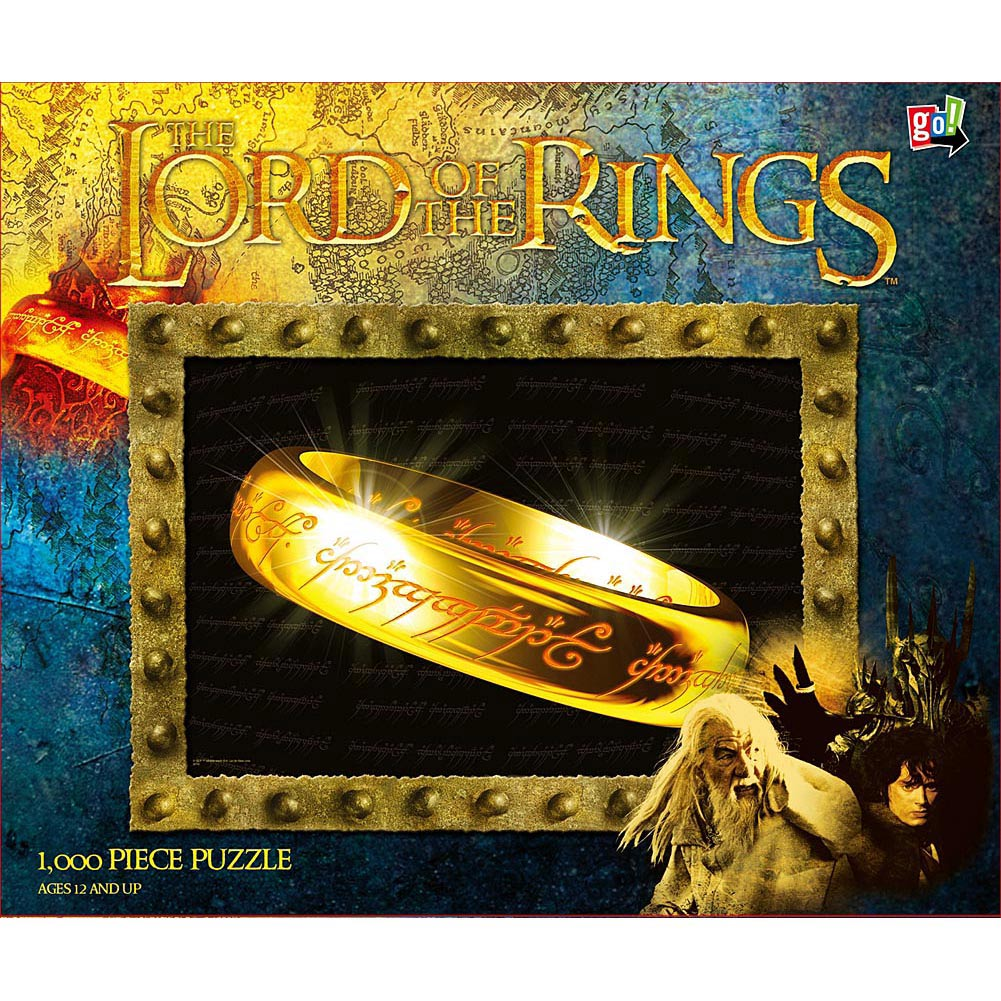 The Lord of the Rings One Ring 1000 Piece Puzzle