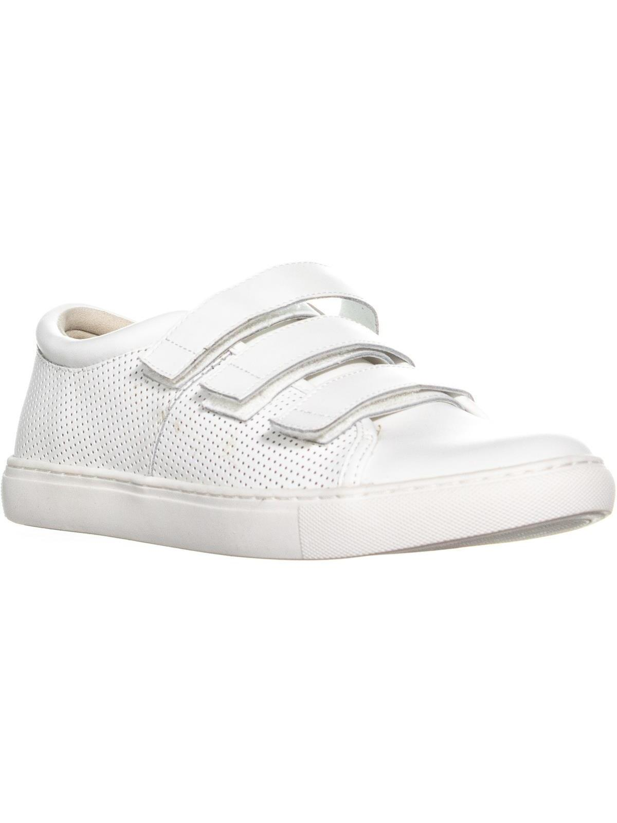 Womens Kenneth Cole REACTION Jovie Triple Strap Sneakers, White, 8 US / 39 EU