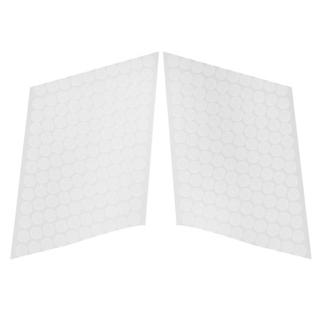 Removable Adhesive Dots (Home Nylon Round Note Book Poster Self Adhesive Removable Dot 10mm Dia 130 Sets )