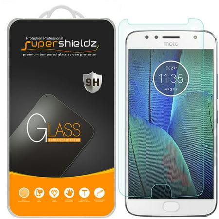 1 Pack  Supershieldz Motorola   Moto G5s Plus   Tempered Glass Screen Protector  Anti Scratch  Anti Fingerprint  Bubble Free