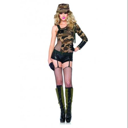 Camo Doll Army Girl Adult Costume