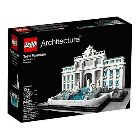 LEGO Architecture 21020: Trevi Fountain (Legos Architecture White House)