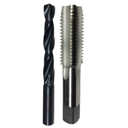 Drill Tap Machines - #0-80 High Speed Steel Plug Tap and 3/64