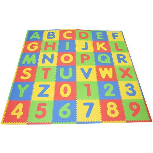 Tadpoles ABC Playmat Set, Multi/Primary