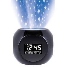 Multi_function Projection alarm clock with sound