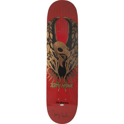 Steiner Sports Tony Hawk Autographed Red Wings Skateboard