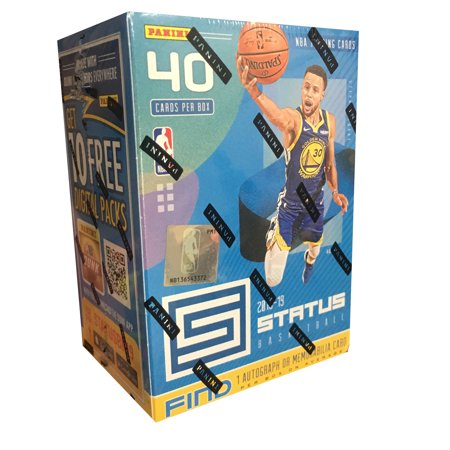 2018-19 Panini Status NBA Basketball Trading Cards Blaster Box- Featuring Steph Curry and Top NBA Rookies |find new Panini Parallels (1990 Rookie Traded Trading Card)