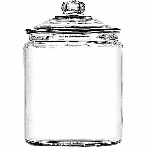 Anchor Hocking 1 gal Glass Heritage Jar