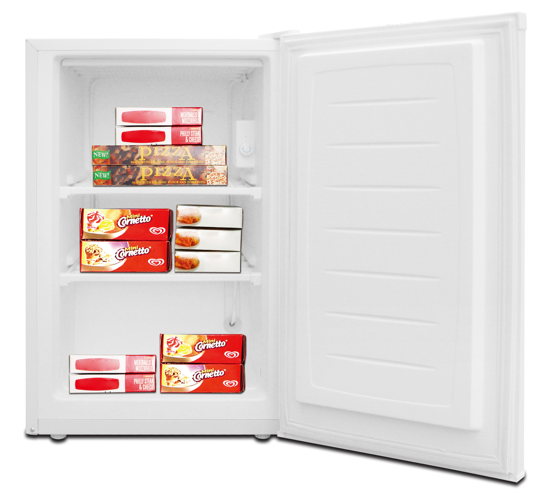 RCA, 3.0 CU. FT. Upright Freezer, White