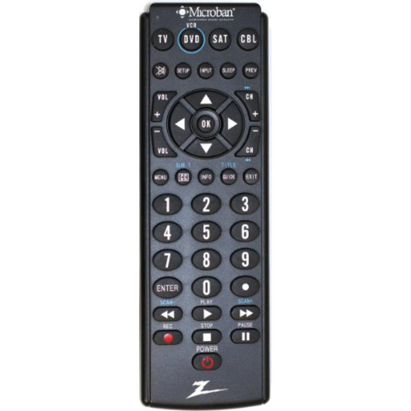 4/PACK AMERICAN TACK & HDWE CO ZB410MB 4 DEVICE UNIVERSAL REMOTE
