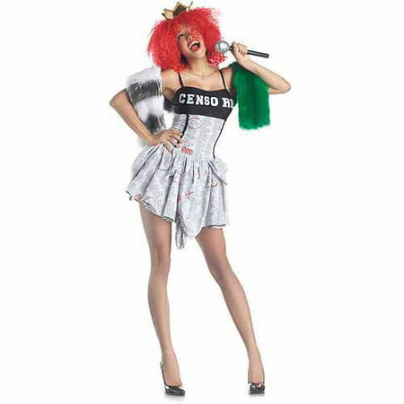 Censored Pop Superstar Adult Halloween Costume