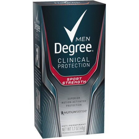 Degree Men Clinical Sport Strength Antiperspirant Deodorant  1 7 Oz