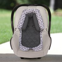 On the Goldbug 2-in-1 Infant Head Support for Car Seats, Grey