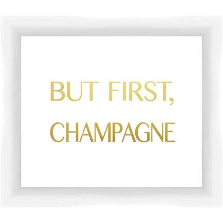 - But First Champagne 13.375