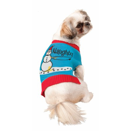 Ugly Christmas Sweater Pet Costume (Christmas Costumes For Pets)