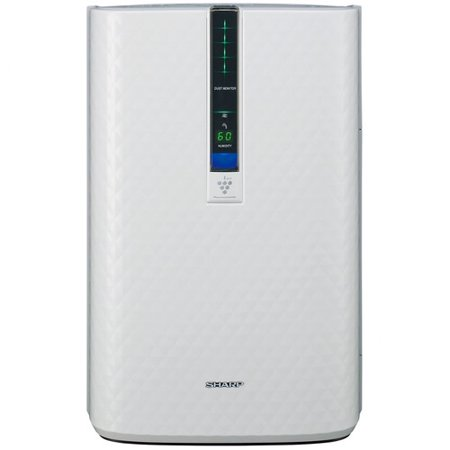 Sharp ENERGY STAR KC-850U Plasmacluster Air Purifier with Humidifying Function