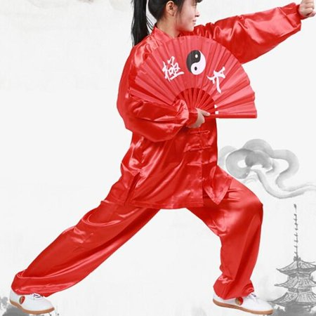 Tai Chi Wushu Clothing Unisex Arts Uniform Kung Fu - Walmart com