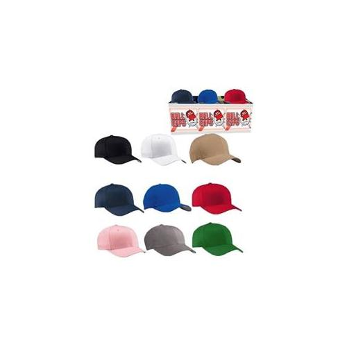 DDI 1184054 Ball Caps- Plain Styles Case Of 144