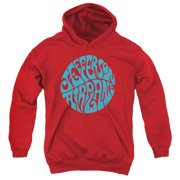 Jefferson Airplane Round Logo Big Boys Pullover Hoodie
