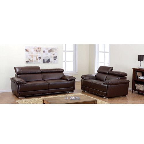 AC Pacific Kyle Sofa and Loveseat Set