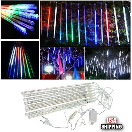 Meteor Shower Rain Amazing LED Tube String Christmas Xmas Lights Decoration