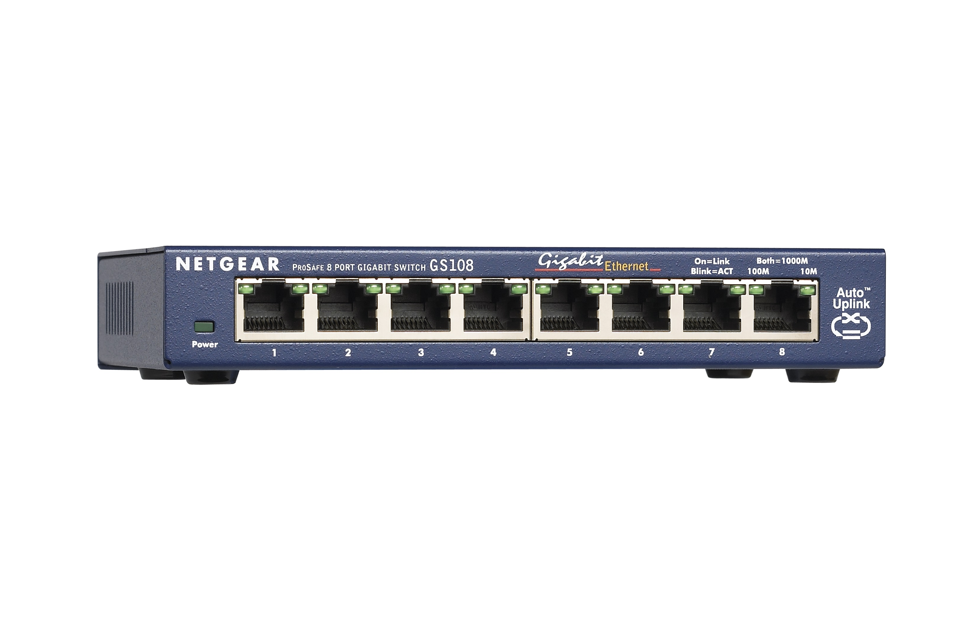 Netgear ProSafe 8 Port Gigabit Switch by NETGEAR
