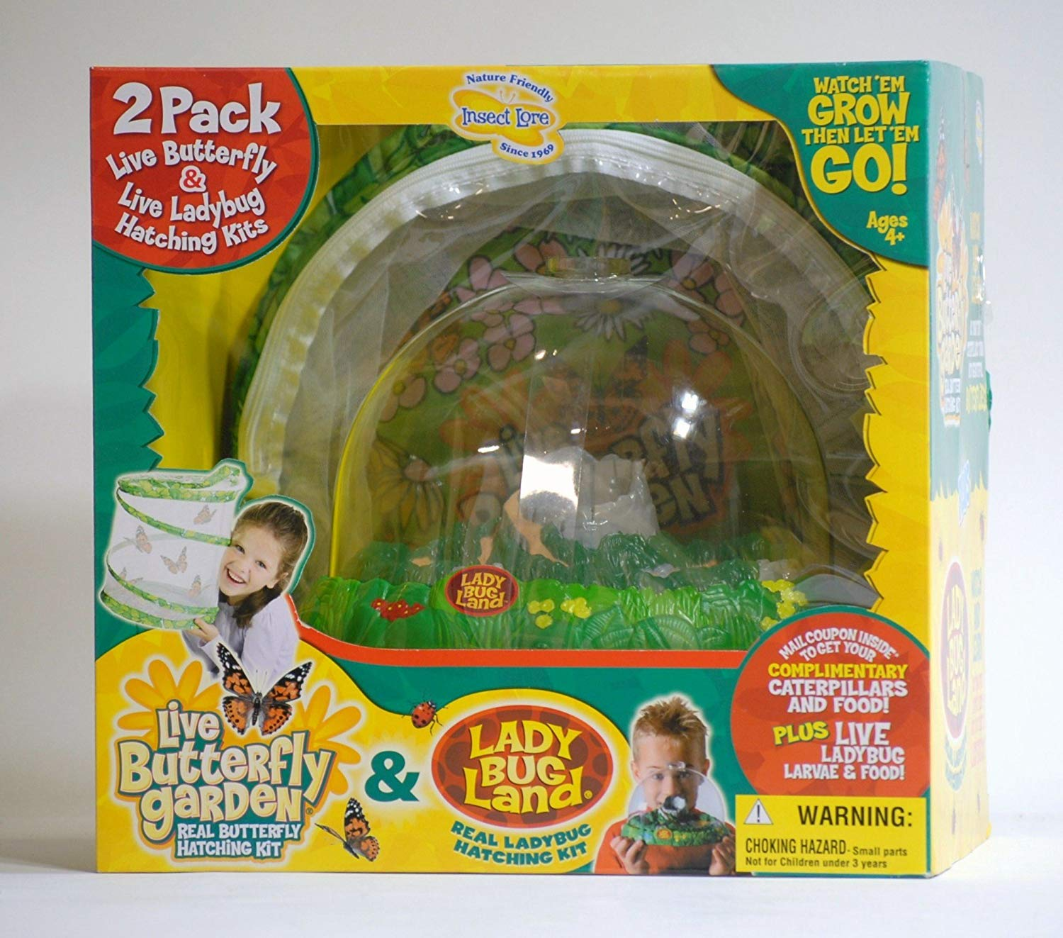 Insect Lore Live Butterfly Garden and Ladybug Land by