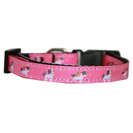 Unicorn Dog (Pink Unicorn Nylon Dog Collar)