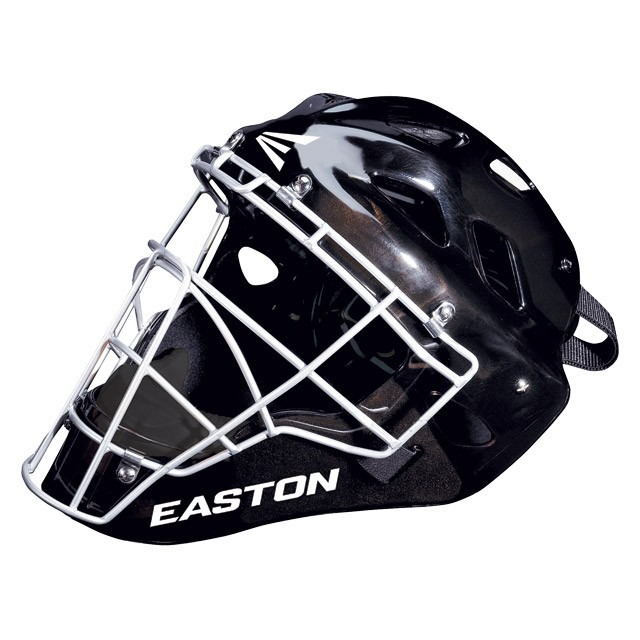 Easton Stealth SE baseball softball catchers gear hockey style helmet Black L