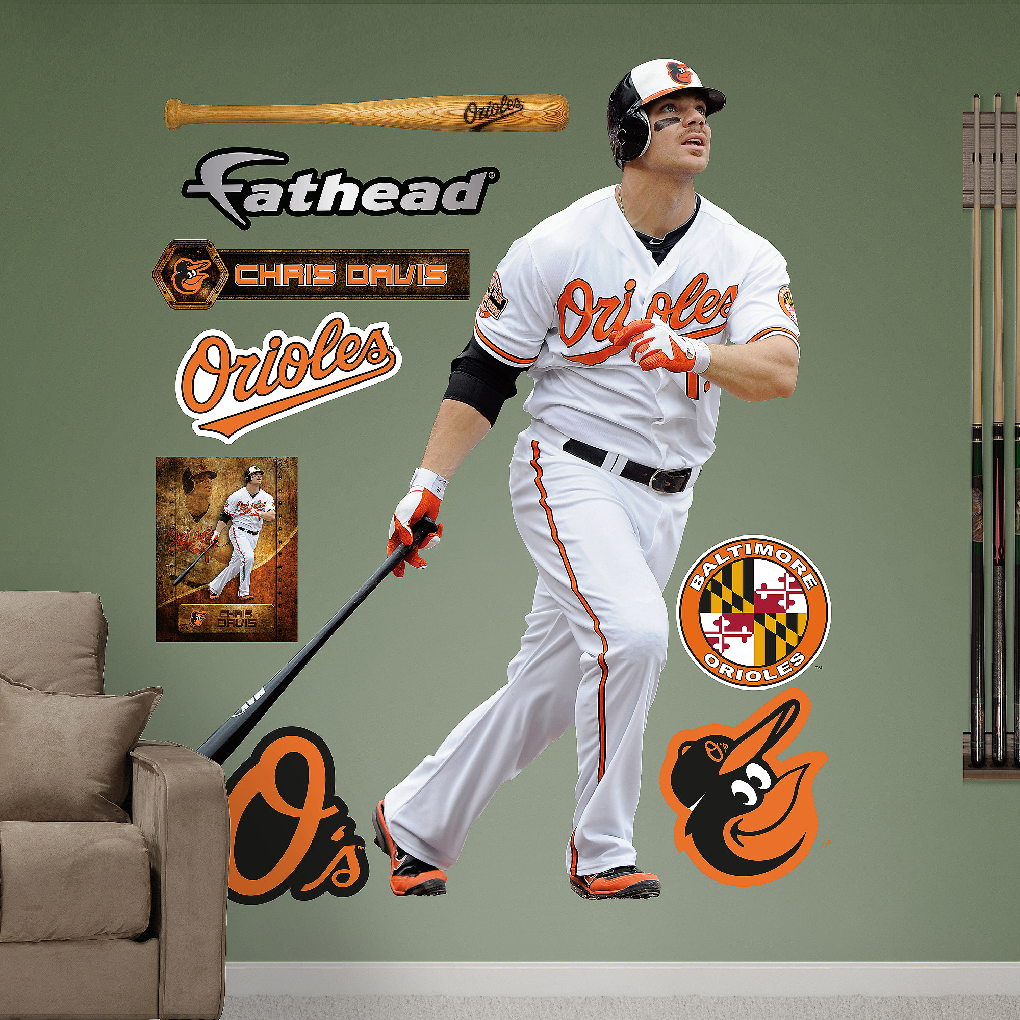 MLB Chris Davis 2013 RealBig
