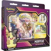 Pokemon TCG: Morpeko Pin Collection- 1 Foil Promo Card   1 Glossy Pin  3 Booster Packs