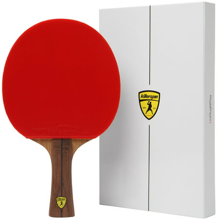 Killerspin JET800 SPEED N1 Advanced Level Table Tennis Paddle, Red (Table Tennis Paddle Cover)
