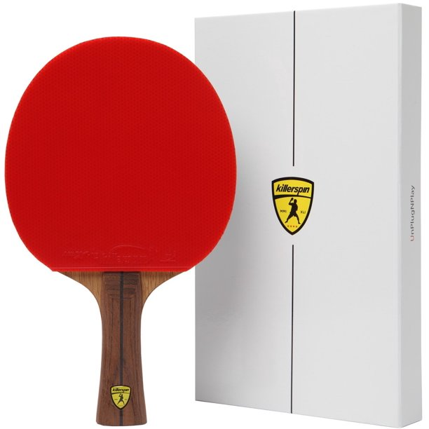 Killerspin JET800 SPEED N1 Advanced Level Table Tennis Paddle, Red