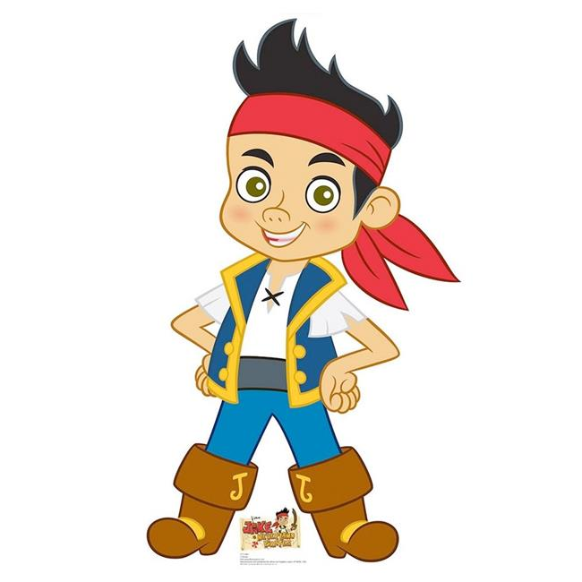 Costume Supercenter BB1210 Jake & The Never Land Pirates Cardboard Standup
