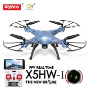 Cheerwing Syma X5HW-I FPV 2.4Ghz 4CH RC Headless Quadcopter Drone UFO with Hover Function HD Wifi Camera, Blue
