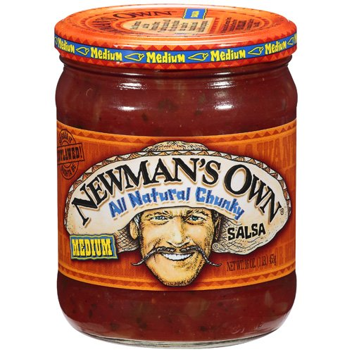 Newman's Own: All Natural Chunky Medium Salsa, 16 Oz