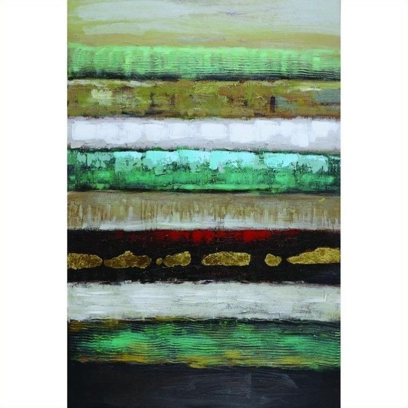 Yosemite Home Decor Layers I Wall Art - 31.5W x 47.5H in.