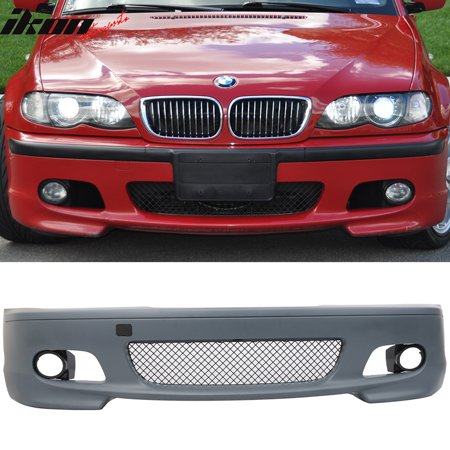 Fits 00-06 E46 3 Series 2Dr MT M Sport Front Bumper Cover Guard