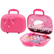 Real Washable Princess Cosmetic Set Girls Pretend Play Makeup Toys Kits;Real Washable Princess Cosmetic Set Girls Pretend Play Makeup Toys Kit