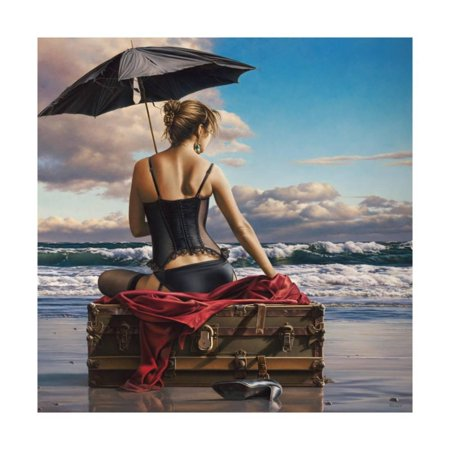 On the Edge of the World Print Wall Art By Paul Kelley