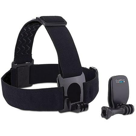 GoPro Head Strap + QuickClip - ACHOM-001 Go Pro Grab Bag