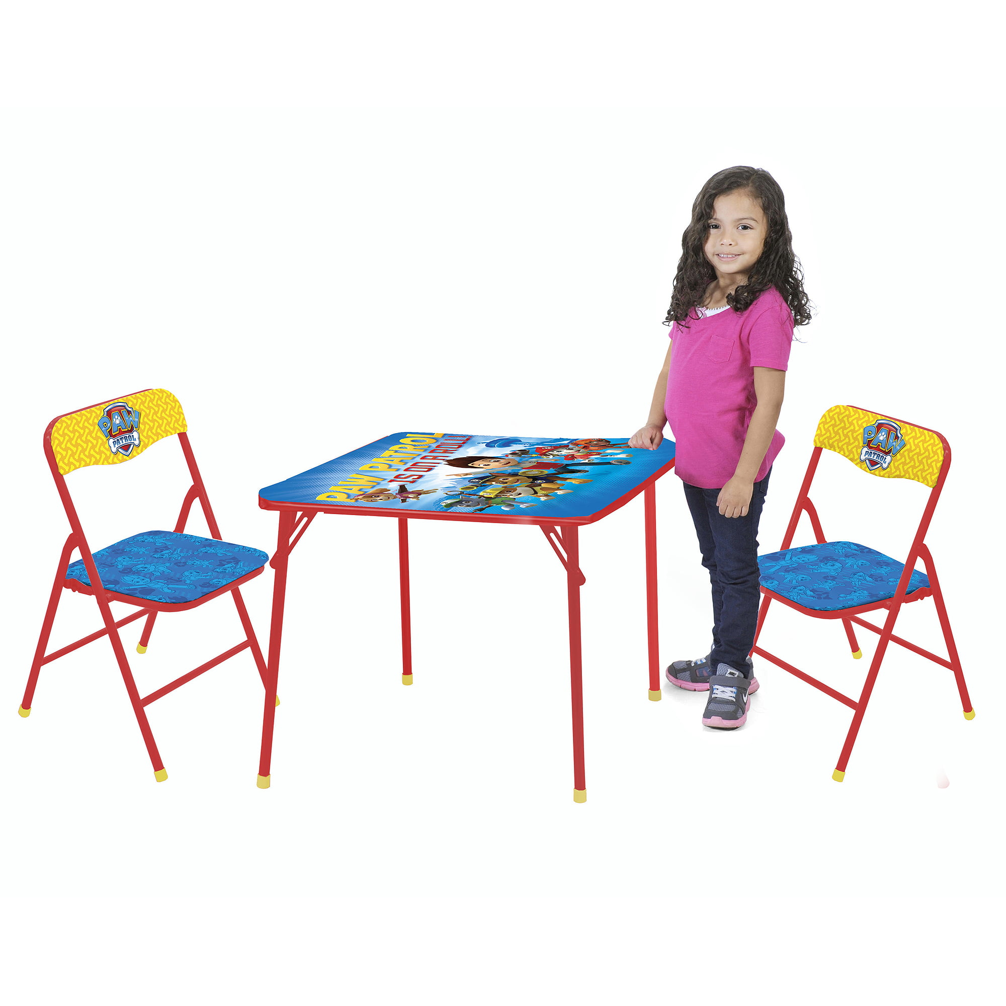 Nickelodeon Paw Patrol 3-Piece Table and Chair Set by Nickelodeon